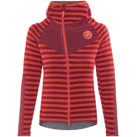 Edelrid Creek Fleece Jacket Women Vine Red